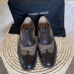 Men's Brown GIORGIO ARMANI Dress Shoes